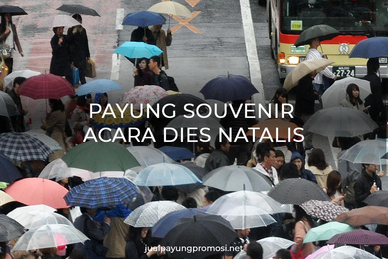pusat pembuatan payung souvenir dies natalis | WA: 0821.3617.6797