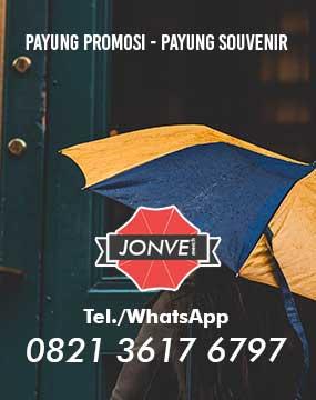 pusat produksi payung souvenir promosi - Telepon | Whatsapp 0821 3617 6797