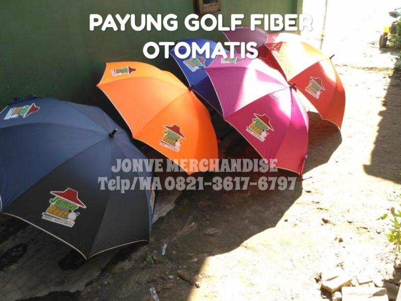 payung golf fiber otomatis